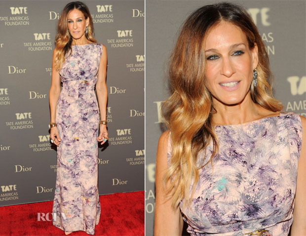 Sarah Jessica Parker In Vintage - 2013 Tate Americas Foundation Artists Dinner