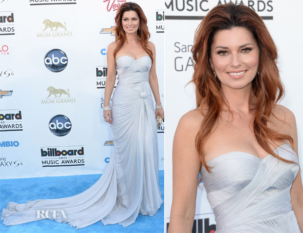Shania Twain In Pavoni by Mikael D - 2013 Billboard Music Awards
