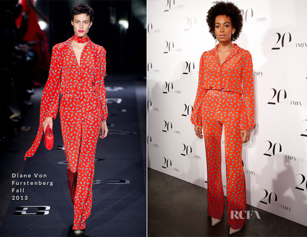 Solange Knowles In Diane Von Furstenberg - Intermix 20th Anniversary Celebration