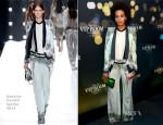 Solange Knowles In Roberto Cavalli – Belvedere Vodka 'Walks Its Way' Run D.M.C. Party