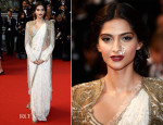 Sonam Kapoor In Anamika Khanna Couture - 'The Great Gatsby' Premiere & Cannes Film Festival Opening Ceremony
