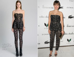 Sophia Bush In Catherine Malandrino - The Beverly Hilton Unveils Redesigned Aqua Star Pool