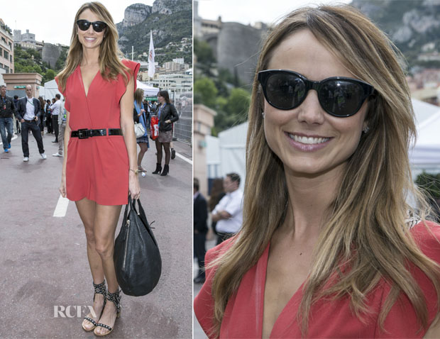 Stacy Keibler In ALICE By Temperley - Monte Carlo Grand Prix