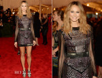 Stacy Keibler In Rachel Roy - 2013 Met Gala