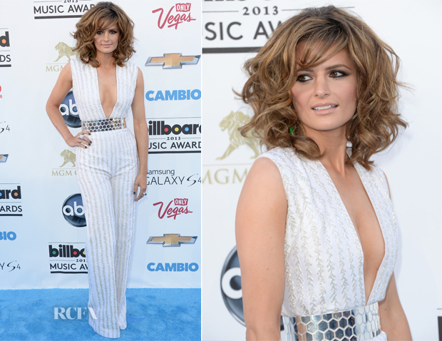 Stana Katic In Nicholas Oakwell Couture - 2013 Billboard Music Awards