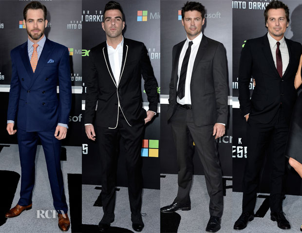 'Star Trek Into Darkness' LA Premiere Menswear Round Up