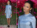 Thandie Newton In Stella McCartney - Jimmy Choo 'The Season' Dinner Party
