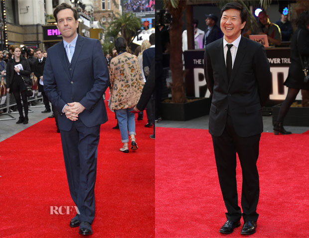 'The Hangover III' London Premiere Menswear Round Up 2
