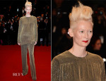Tilda Swinton In Haider Ackermann - 'Only Lovers Left Alive' Cannes Film Festival Premiere