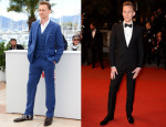 Tom Hiddleston In Alexander McQueen - 'Only Lovers Left Alive' Cannes Film Festival Premiere