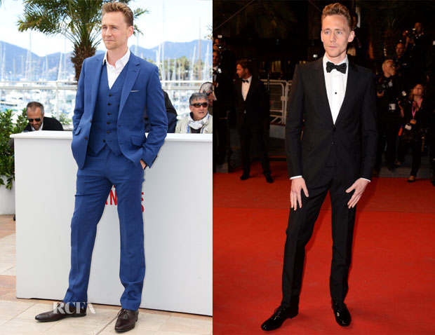Tom Hiddleston In Alexander McQueen - 'Only Lovers Left Alive' Premiere