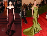 Uma Thurman In Zac Posen - 2013 Met Gala