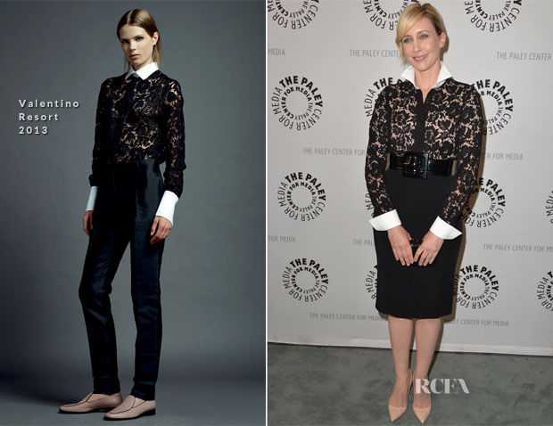Vera Farmiga In Valentino - 'Bates Motel Reimagining A Cinema Icon' The Paley Center for Media Presentation
