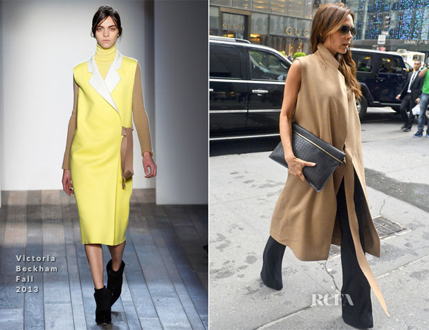 Victoria Beckham In Victoria Beckham - Shopping In New York City
