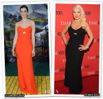 Who Wore Victoria Beckham Better...Rachel Weisz or Christina Aguilera?