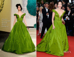 Zhang Yuqi In Ulyana Sergeenko Couture - 'The Great Gatsby' Premiere & Cannes Film Festival Opening Ceremony