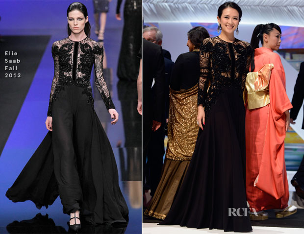 Zhang Ziyi In Elie Saab - 'Zulu' Cannes Film Festival Premiere and Closing Ceremony
