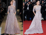 Zhang Ziyi In Elie Saab Couture - 'La Venus a La Fourrure' Cannes Film Festival Premiere