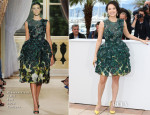 Zhang Ziyi In Giambattista Valli Couture - Jury 'Un Certain Regard' Cannes Film Festival Photocall