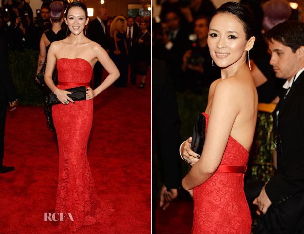 Zhang Ziyi In Jason Wu - 2013 Met Gala