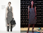 Zoe Saldana In Bottega Veneta - 'Star Trek Into The Darkness' Mexico Press Conference