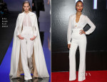 Zoe Saldana In Elie Saab - 'Star Trek Into Darkness' Mexico Premiere