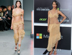 Zoe Saldana In Rodarte - 'Star Trek Into Darkness' LA Premiere