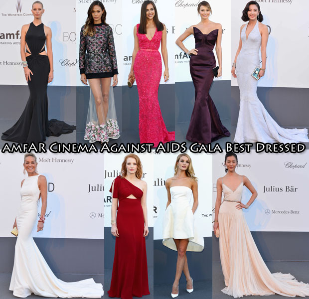 amfAR Cinema Against AIDS Gala best dressed