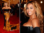 Beyonce Knowles In Givenchy - 2013 Met Gala