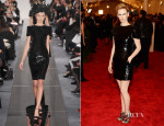 January Jones In Chanel - 2013 Met Gala