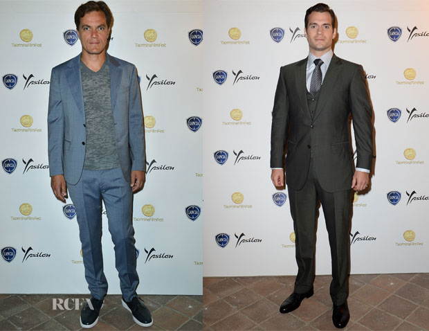 'Man of Steel' Taormina Filmfest 2013 Premiere Menswear Round Up