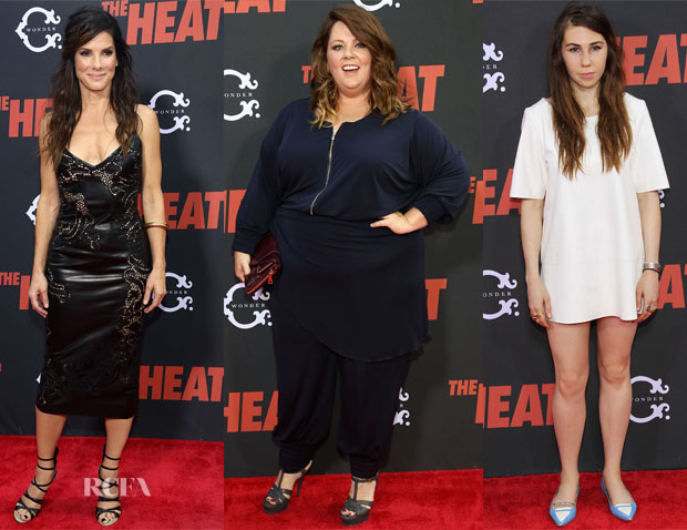 'The Heat' New York Premiere