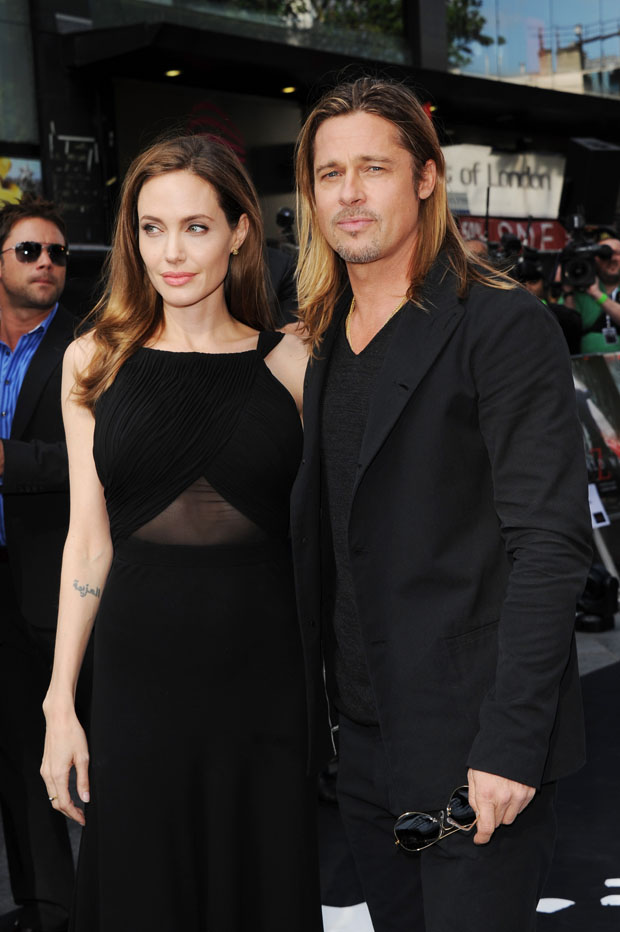 Angelina Jolie in Saint Laurent