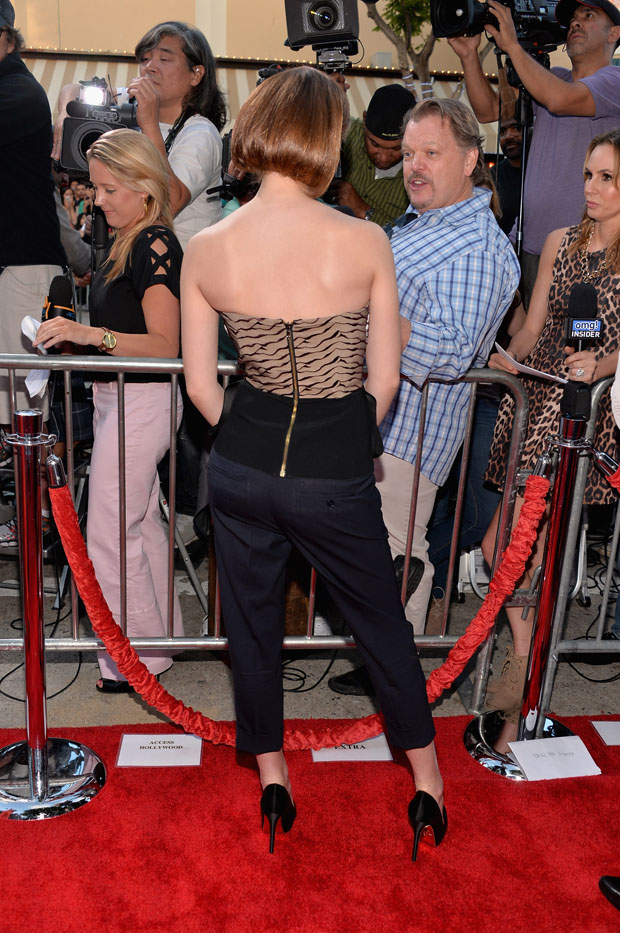 Emma Watson in Roland Mouret