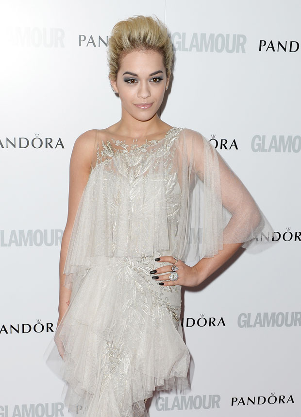 Rita Ora in Marchesa