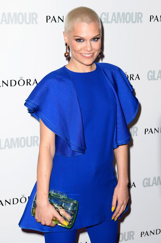Jessie J in Gucci