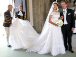 Princess Madeleine of Sweden Weds Christopher O'Neill In Valentino Garavani