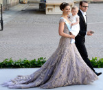 Crown Princess Victoria of Sweden In Fadi El Khoury Couture - Princess Madeleine & Christopher O'Neill Royal Wedding
