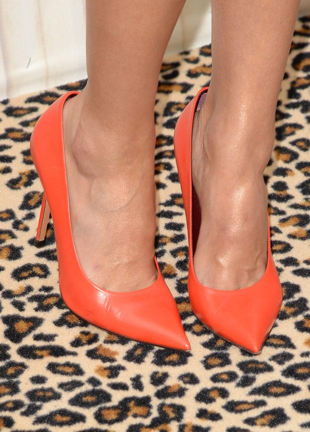 Jessica Alba's Celine pumps