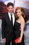 Amy Adams in Nina Ricci with Christian Louboutin clutch