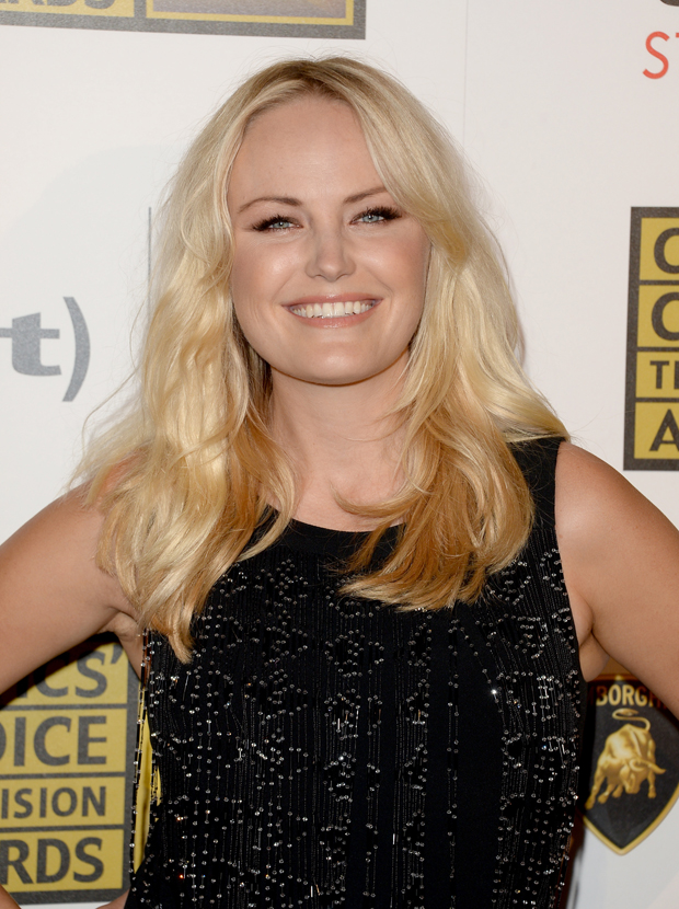 Malin Akerman in Azzaro