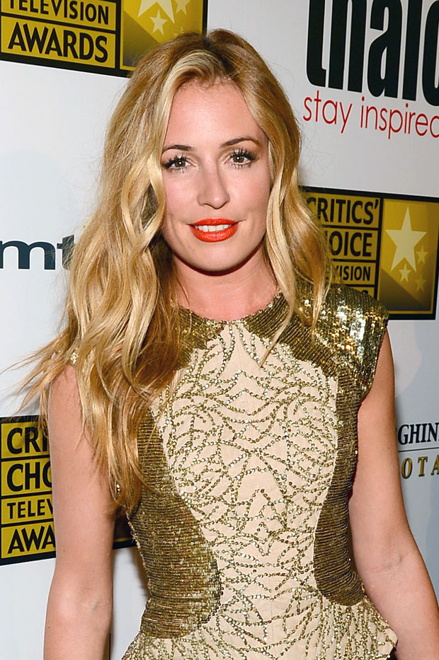 Cat Deeley in Monique Lhuillier