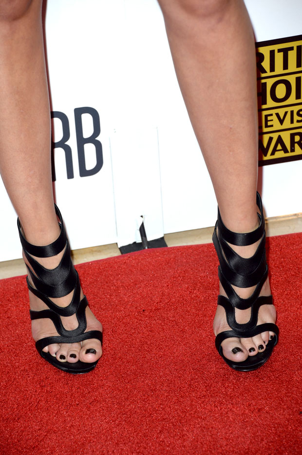 Malin Akerman's shoes