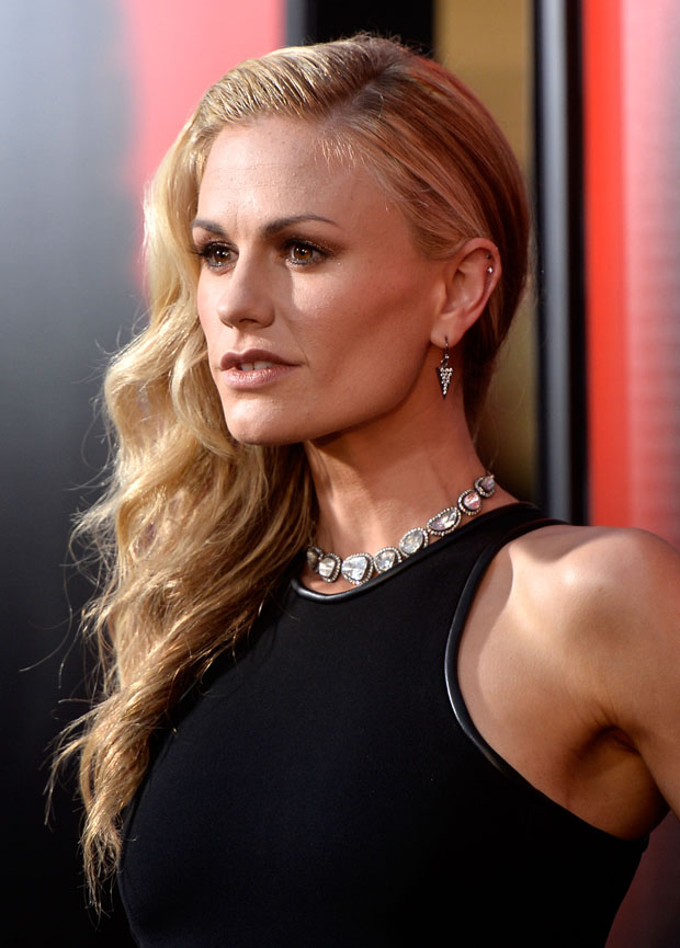 Anna Paquin in David Koma