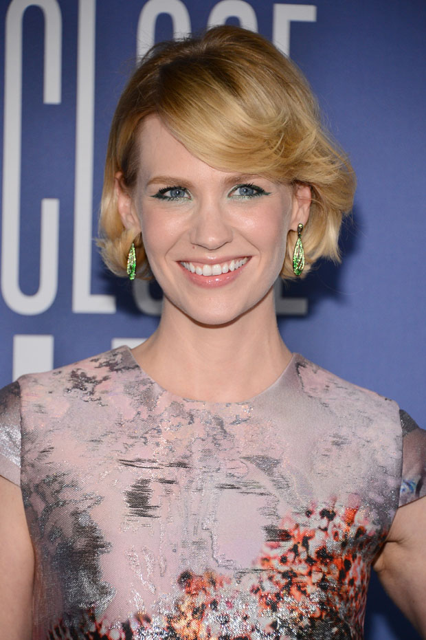 January Jones in Mary Katrantzou