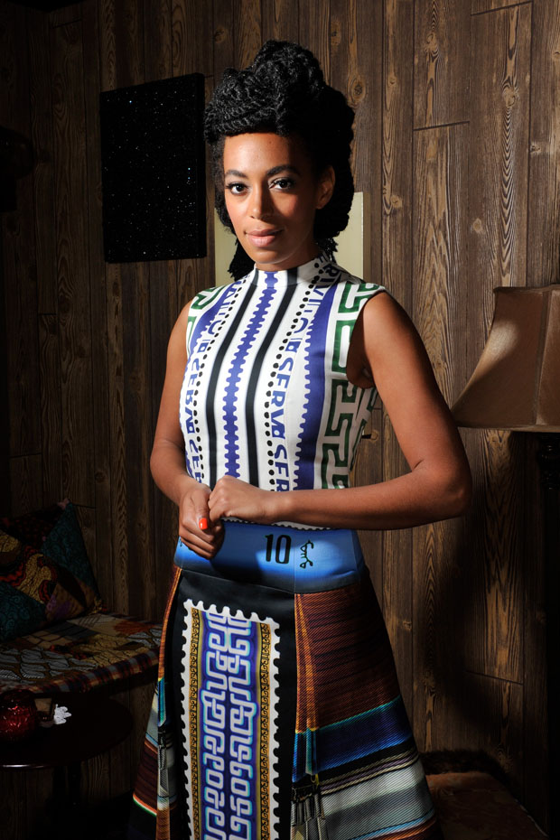 Solange Knowles in Mary Katrantzou