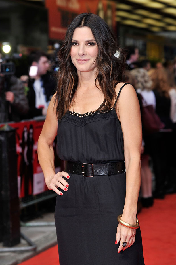 Sandra Bullock in Victoria Beckham