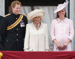 Catherine, Duchess of Cambridge In Alexander McQueen - Trooping The Colour