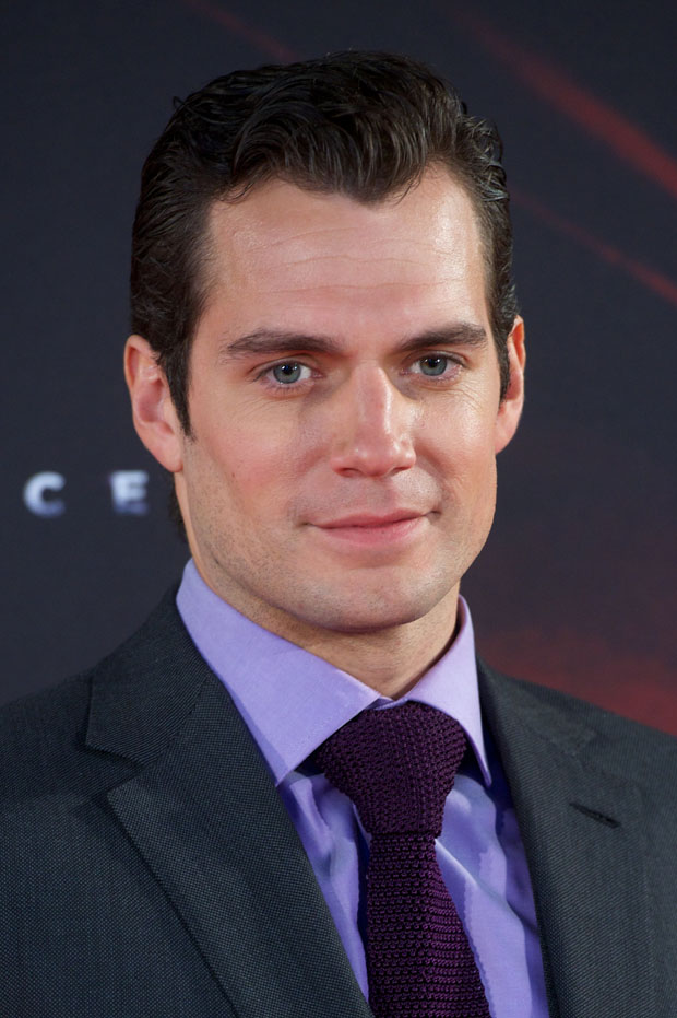 Henry Cavill in Ralph Lauren Purple Label