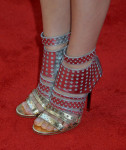 Ahna O'Reilly's Jimmy Choo 'Malika' booties